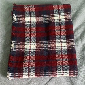 Nordstrom Plaid Infinity Blanket Scarf